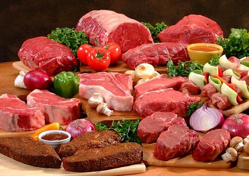 さまざまな肉
