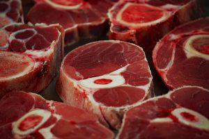 肉の断面がきれい