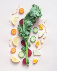 野菜をどうぞ
